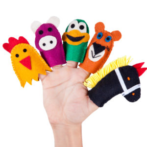 Hand and Finger Puppets
